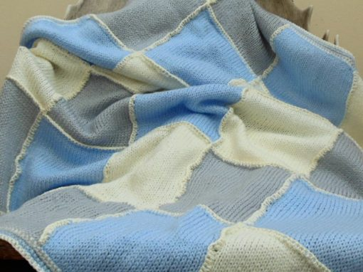 hand-knit-patchwork-baby-blanket