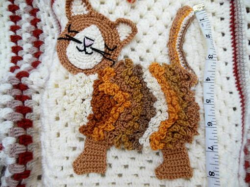 crochet baby blanket crochet cat blanket