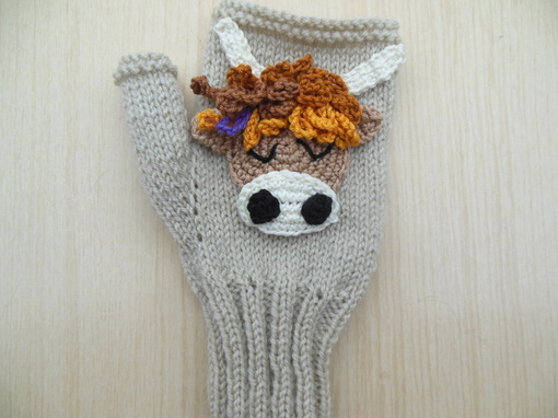 hand knit gloves texting gloves wrist warmers